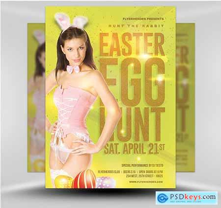 Easter Party Flyer 5B