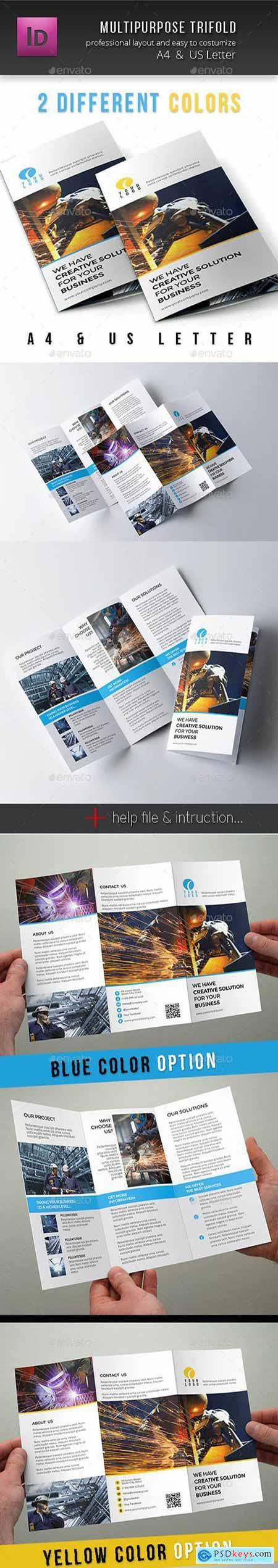Multipurpose Corporate Trifold 10787042