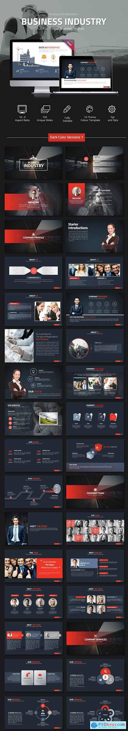 Business Industry Powerpoint Presentation 11333677
