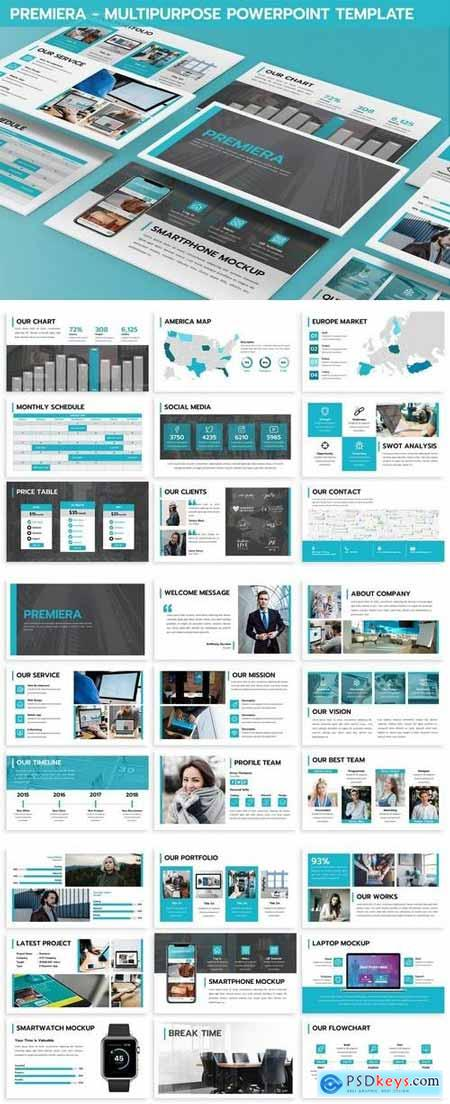 Premiera - Multipurpose Powerpoint Template