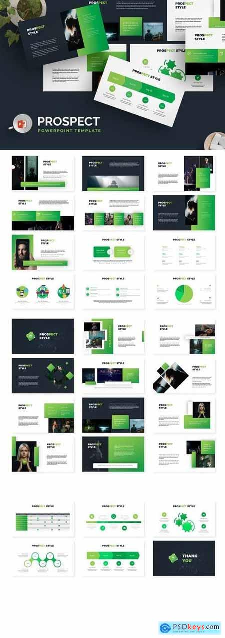 Prospect - Powerpoint, Keynote, Google Sliders Templates
