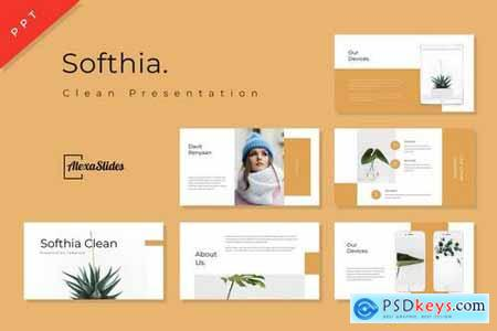 Softhia - Powerpoint, Keynote, Google Sliders Templates