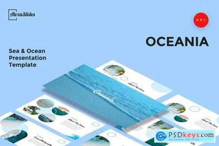 Oceania - Sea & Ocean - Powerpoint, Keynote, Google Sliders Templates