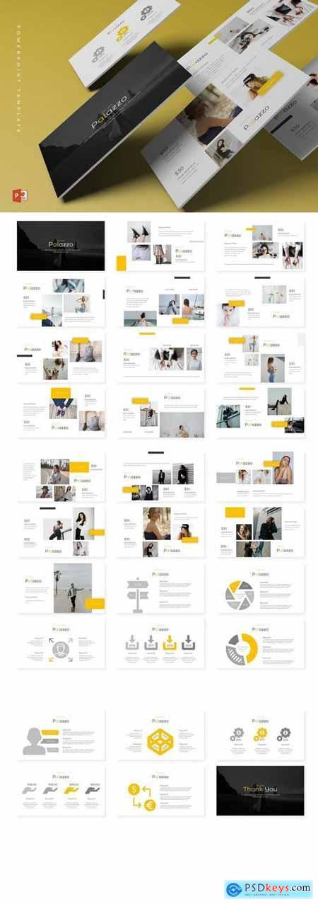 Palazzo - Powerpoint, Keynote, Google Sliders Templates