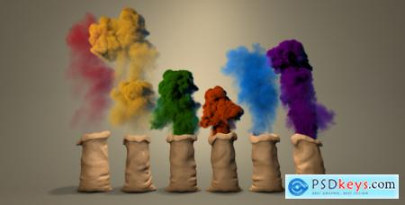 Color Dust Logo 14473515 After Effects Project