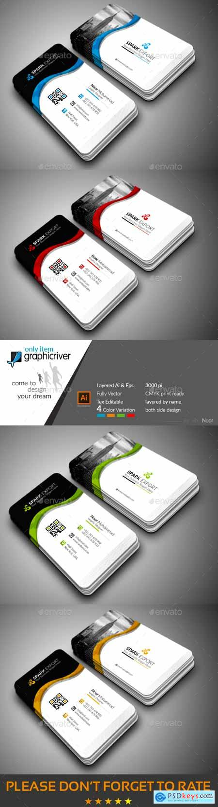 Modern Business Card 22295583