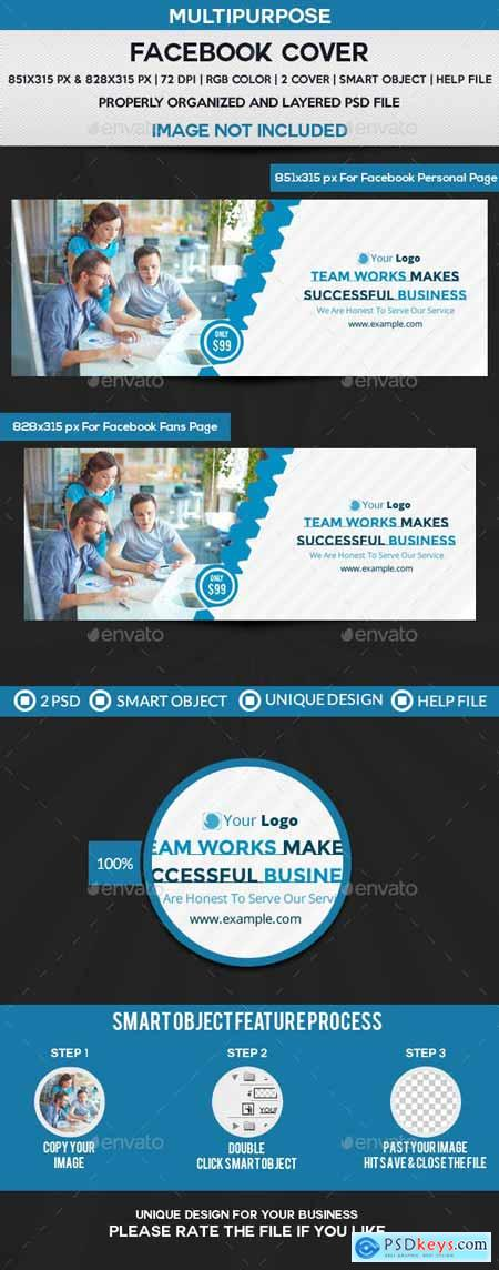 Business Service Facebook Cover 22293787