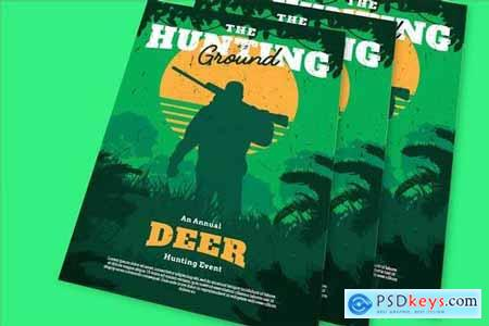 Hunting Ground Flyer