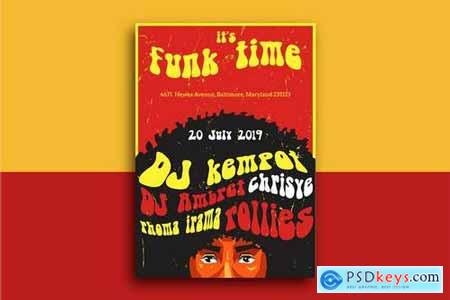 Funk Time Flyer