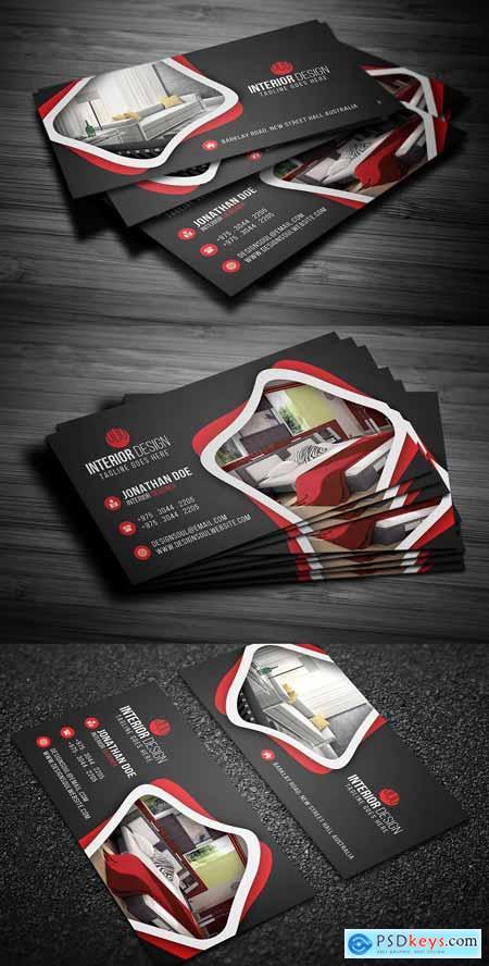 Interior Design Business Card 2731286