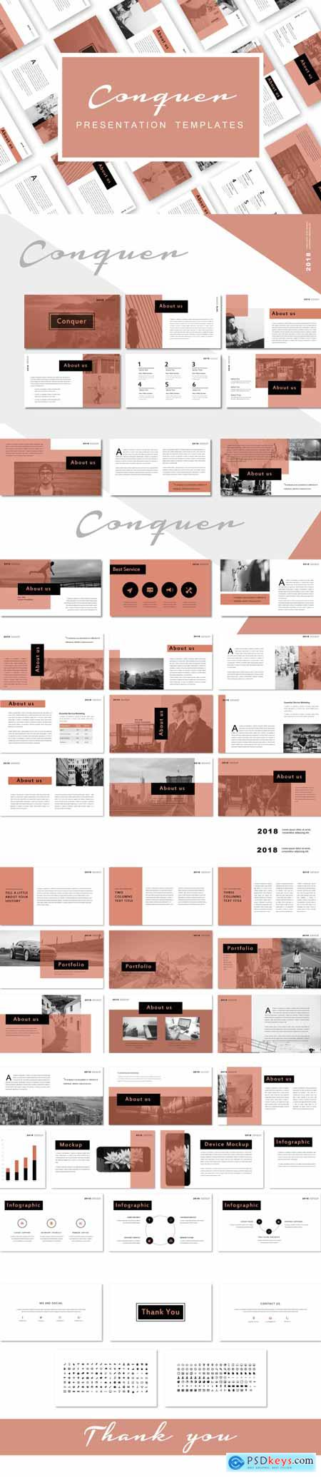 Conquer - PowerPoint 3501908