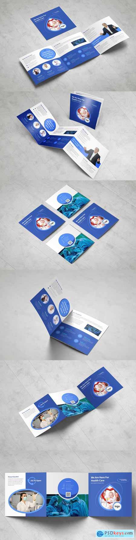 Medical Square Tri fold Brochure 3378797