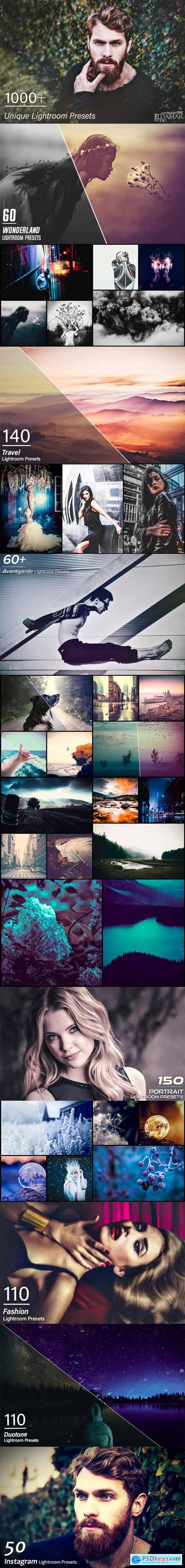 1000+ Unique Lightroom Presets 3062890