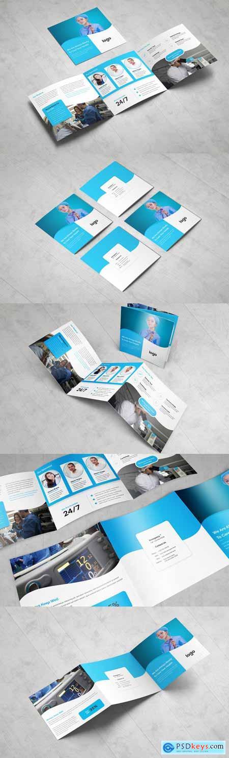 Medical Square Tri fold Brochure 3378795