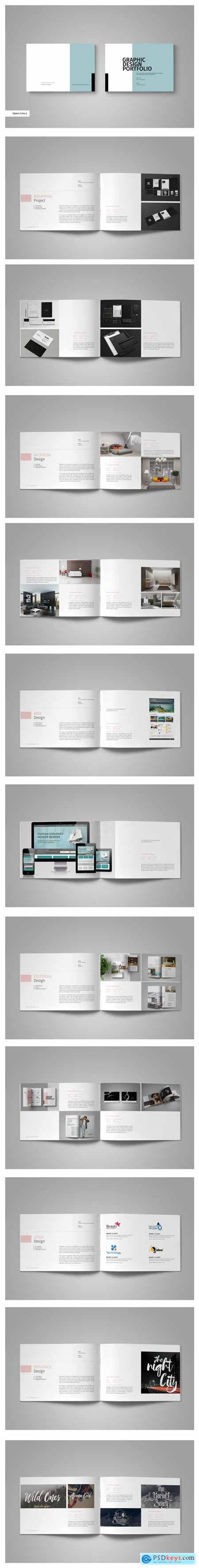 Graphic Design Portfolio Template 2744648