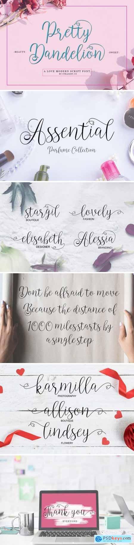Pretty Dandelion Font