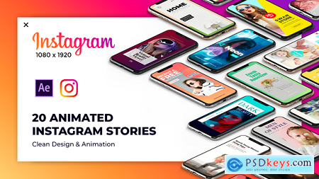 Videohive Instagram Stories Package 2 23228079 After Effect Projects