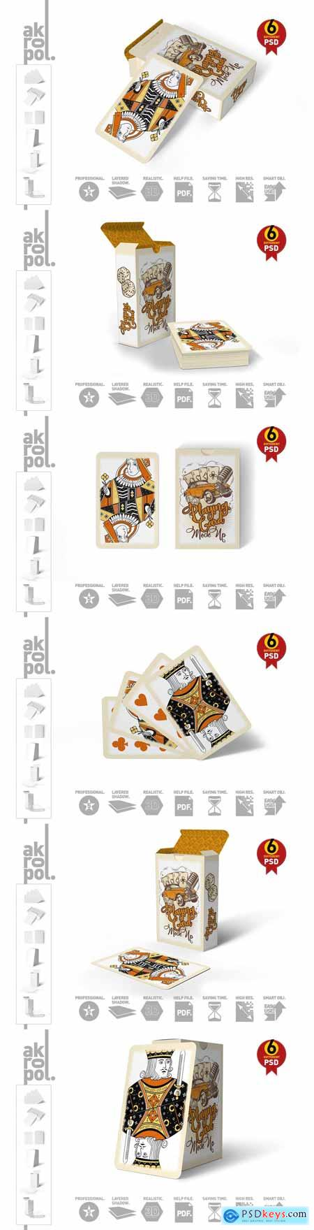 Playing Cards Mock Up 3080751