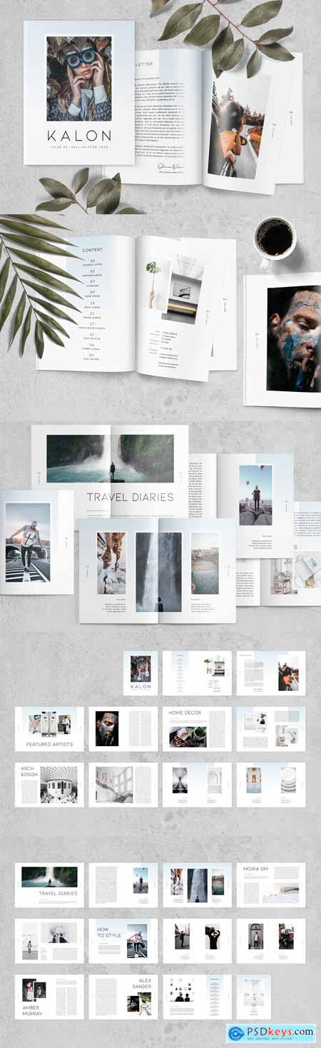 Magazine Template 3082717