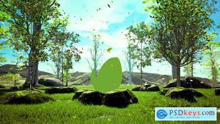 Videohive Growing Tree Nature Logo