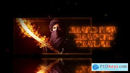 Videohive Dragons Trailer