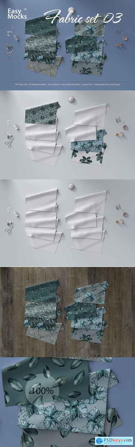 Fabric Mockup set 03
