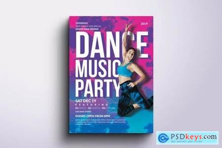 Dance Party Flyer & Poster
