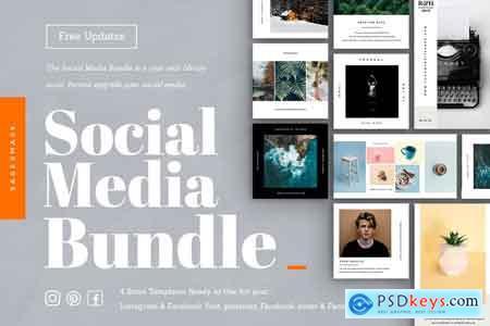 CreativeMarket Social Media Bundle