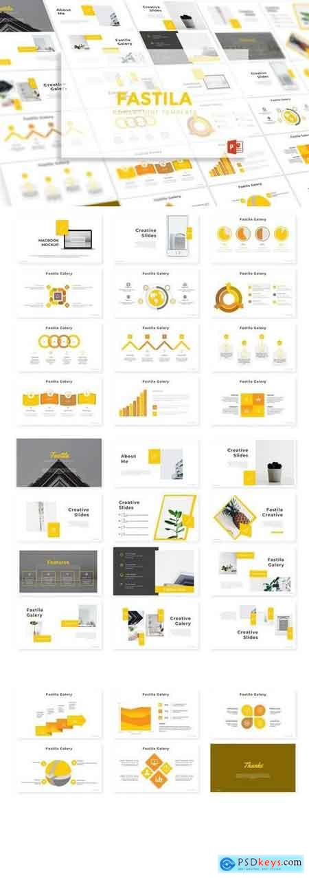 Fastila - Powerpoint, Keynote, Google Sliders Templates
