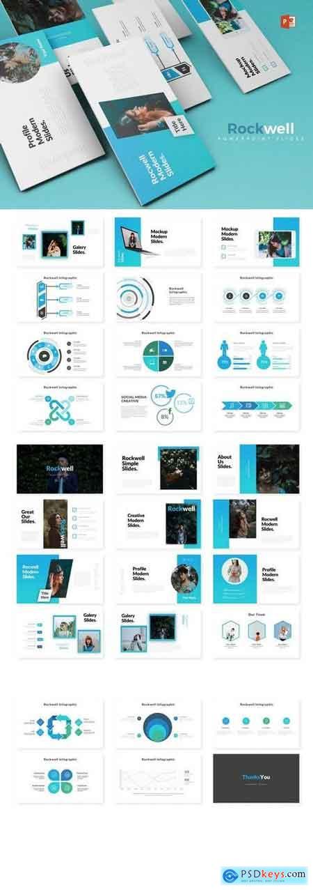 Rockwell - Powerpoint, Keynote, Google Sliders Templates