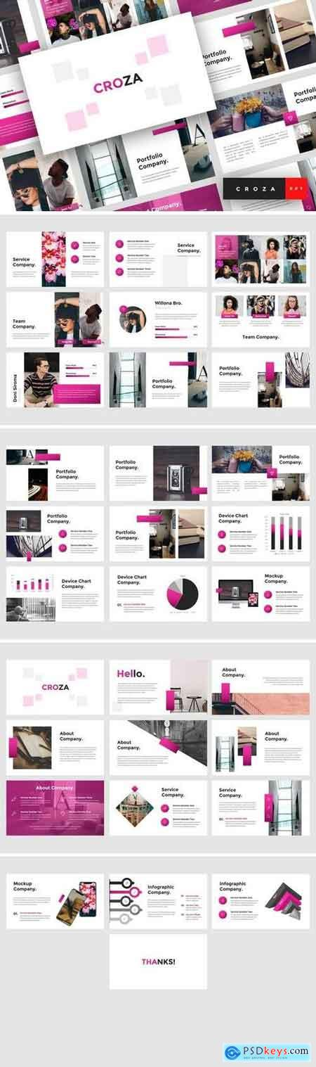 Croza - Creative PowerPoint Template