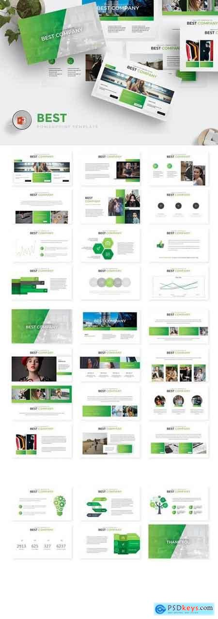 Best - Powerpoint, Keynote, Google Sliders Templates