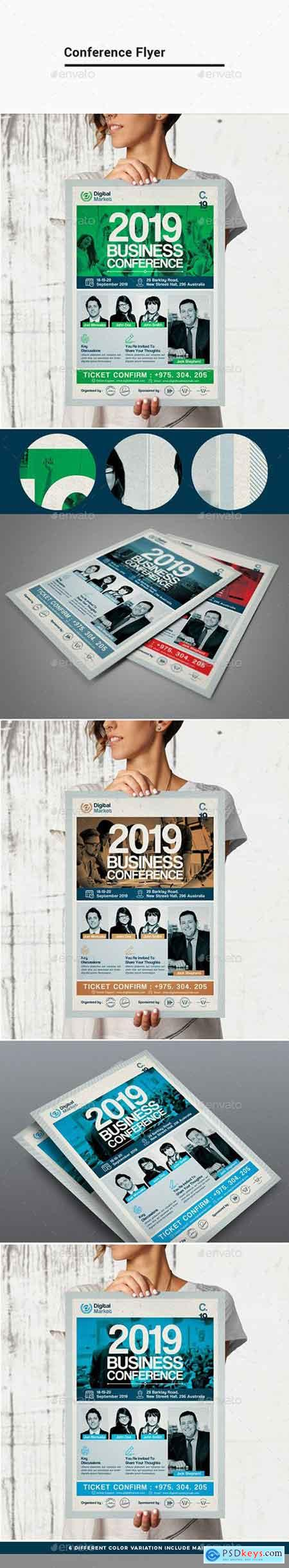 Graphicriver Conference Flyer Template