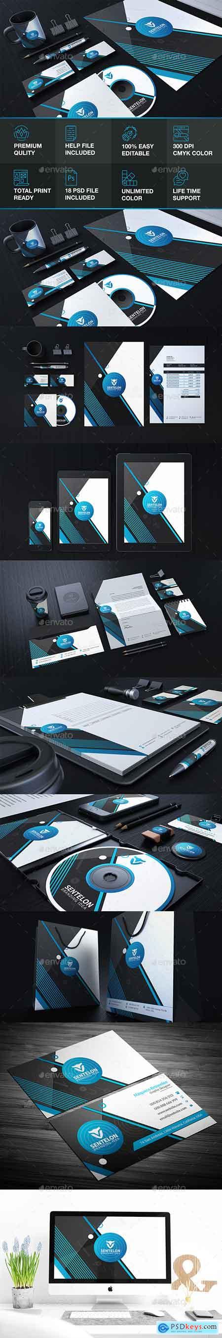 GraphicRiver Lentelon Corporate Stationary Identity