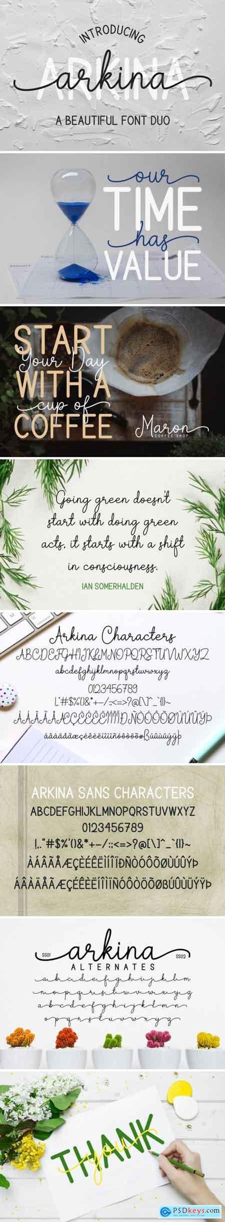 Arkina Duo Font