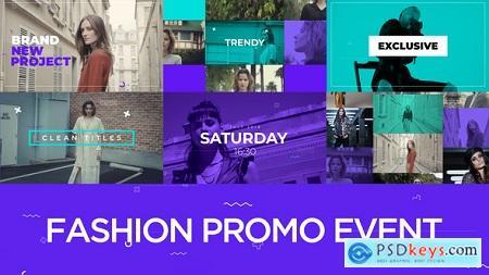 Videohive Fashion Promo Event v1.2