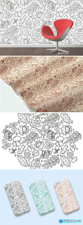Autumn Handdraw Pattern