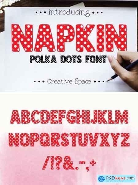 Fontbundles Napkin Font