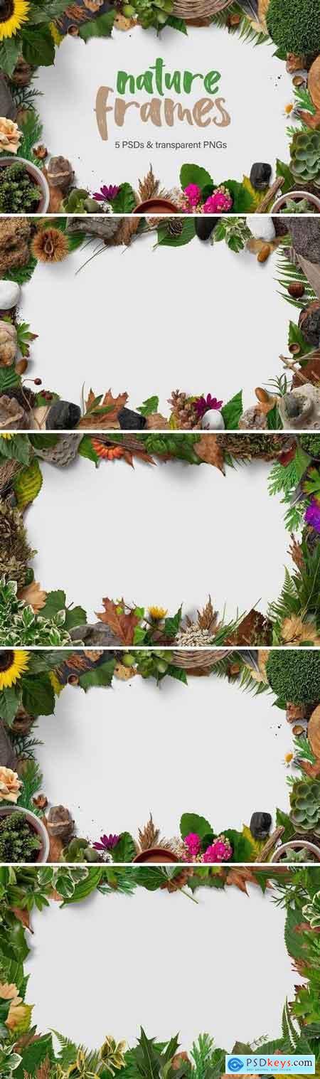 Creativemarket 5 Nature Frames