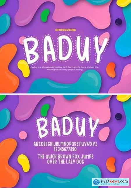 Baduy Font