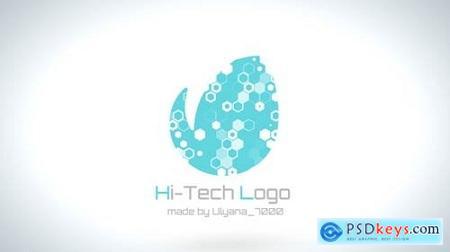 Videohive Hi-Tech Clean Logo