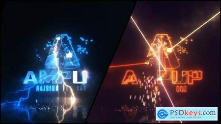 Videohive Energetic Electrify and Laser Logo 22385751