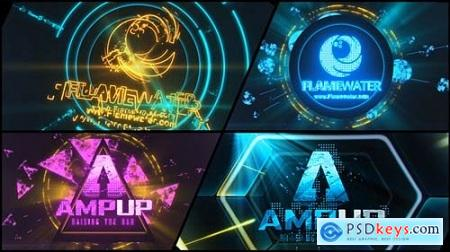 Videohive Abstract Dubstep Logo Reveal