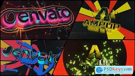 Videohive Colorful Dubstep Projection Logo