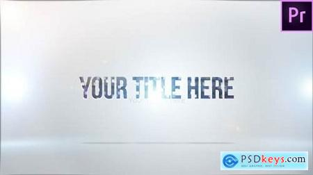 Videohive Clean Title Stinger