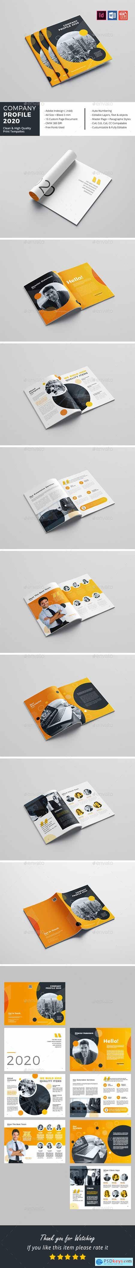 GraphicRiver Company Profile 2020