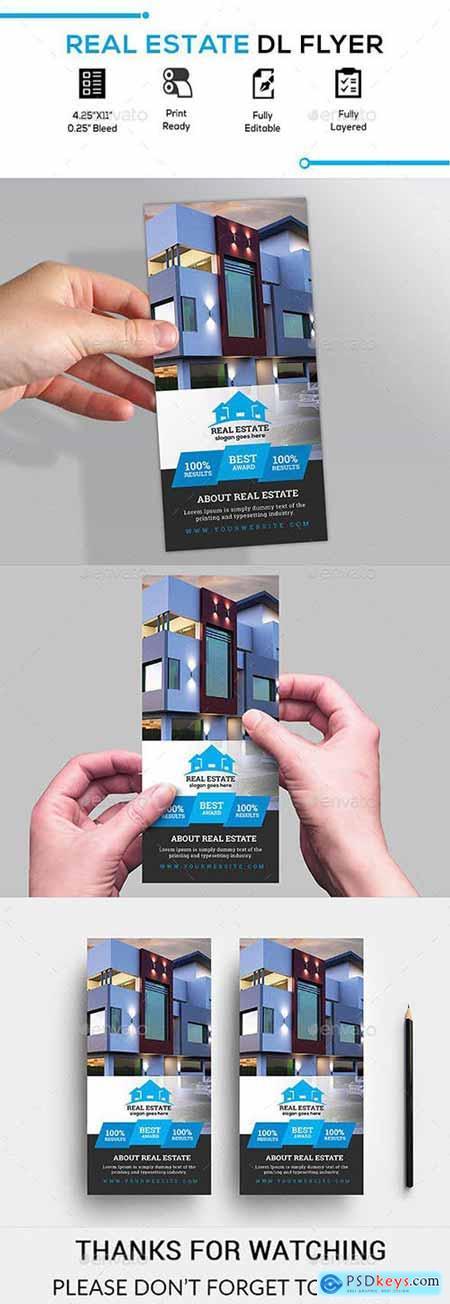 GraphicRiver Real Estate Dl Flyer 23165454