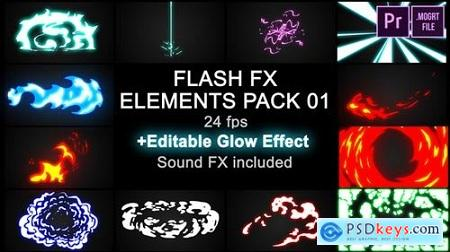 Videohive Flash FX Elements Pack 01 23211885 Free Premiere Pro Template