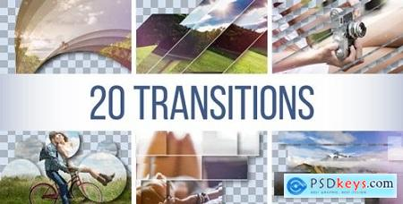 Videohive Transitions Pack 18678821