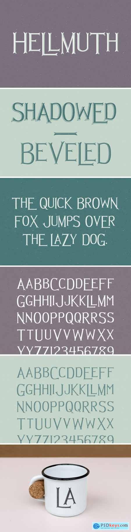Hellmuth Family Font
